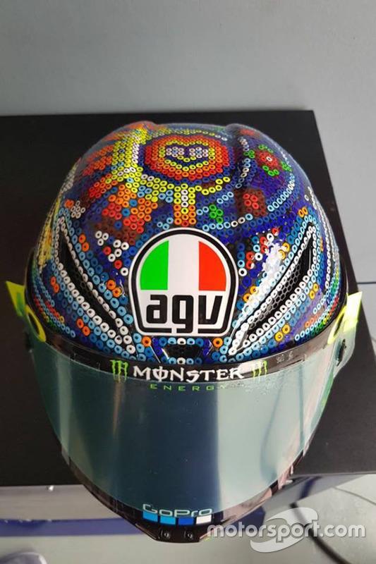 Capacete de Valentino Rossi, Yamaha Factory Racing