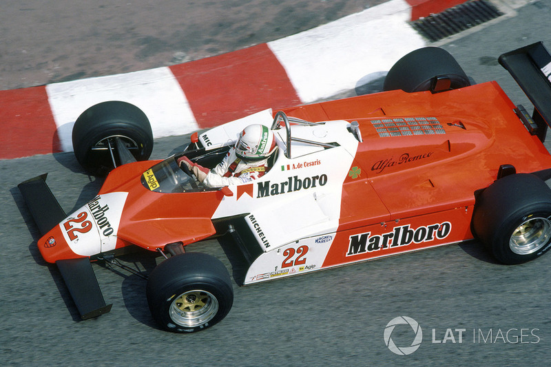 1982: Andrea de Cesaris, Alfa Romeo 182B