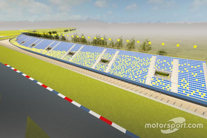 Umbau am TT Circuit Assen