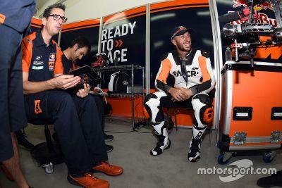 KTM, test di Valencia