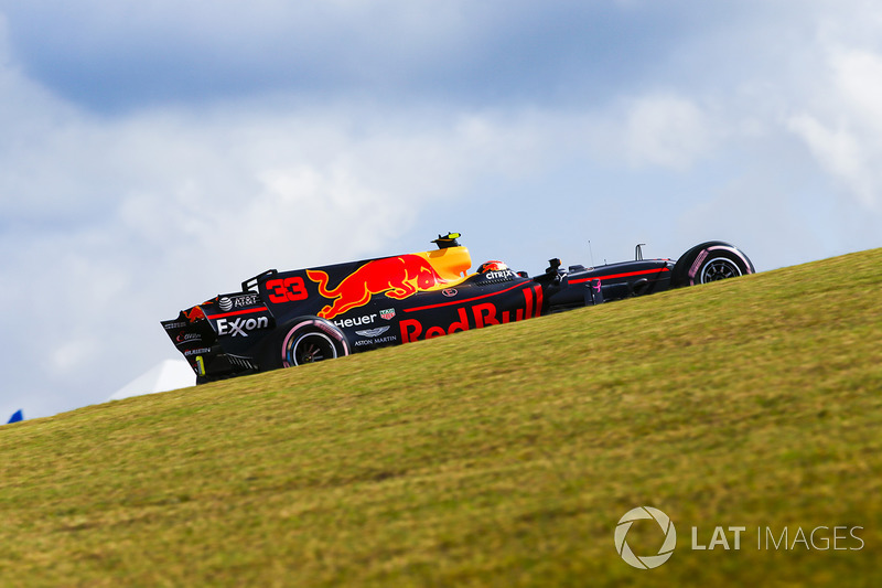 Max Verstappen, Red Bull Racing RB13 (P)