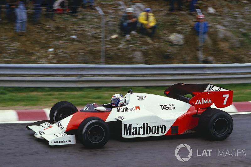 Ален Прост, McLaren MP4/2 TAG Porsche