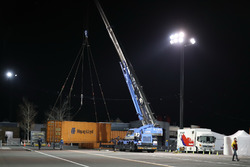 Container arriving at Motegi