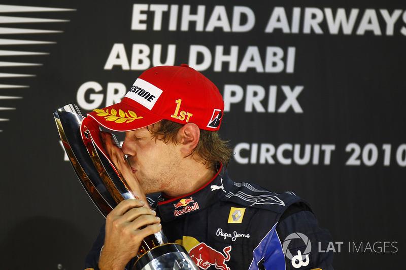 Sebastian Vettel (2010, 2011, 2012 y 2013)
