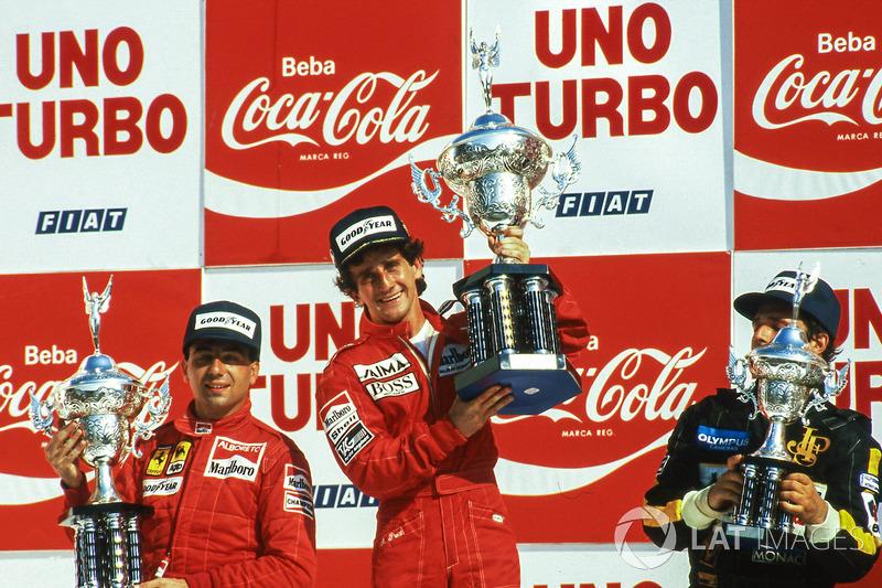 6 раз Гран При Бразилии выигрывал Ален Прост. При этом на «Интерлагосе» он одержал только одну победу