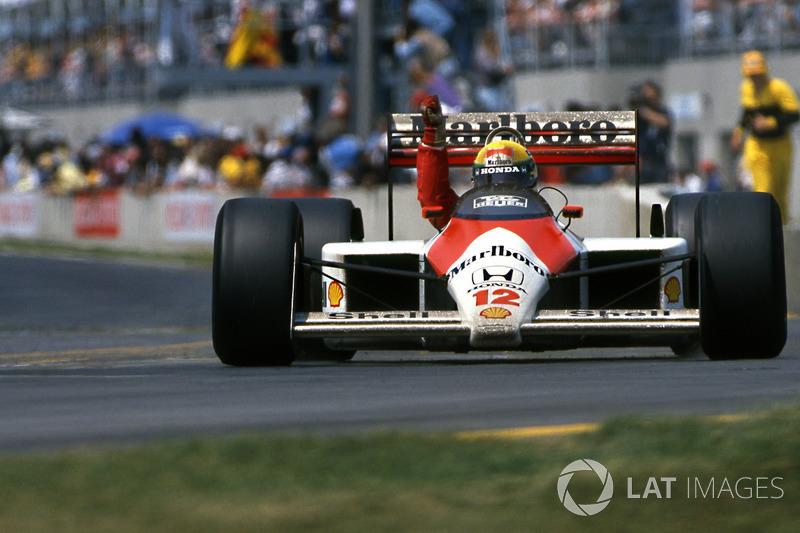 Айртон Сенна, McLaren MP4/4 Honda (8 побед)