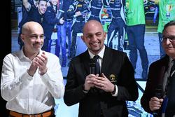 Armando Donazzan, proprietario Orange1 Racing, Giorgio Sanna, capo di Lamborghini Squadra Corse, e Franco Nugnes, direttore responsabile di Motorsport.com Italia