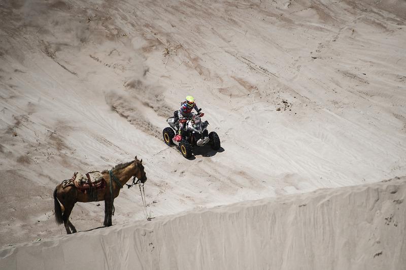 Ян Бастиан Нейен Твилхар, Maxxis Super B Dakarteam, Can-Am Renegade 850