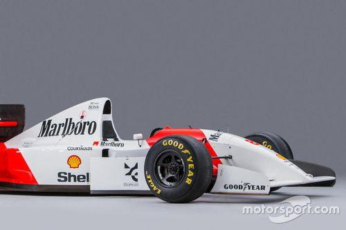 Ayrton Senna McLaren 1993 veiling