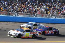 Chase Elliott, Hendrick Motorsports Chevrolet, Denny Hamlin, Joe Gibbs Racing Toyota, David Starr, Motorsports Business Management Toyota