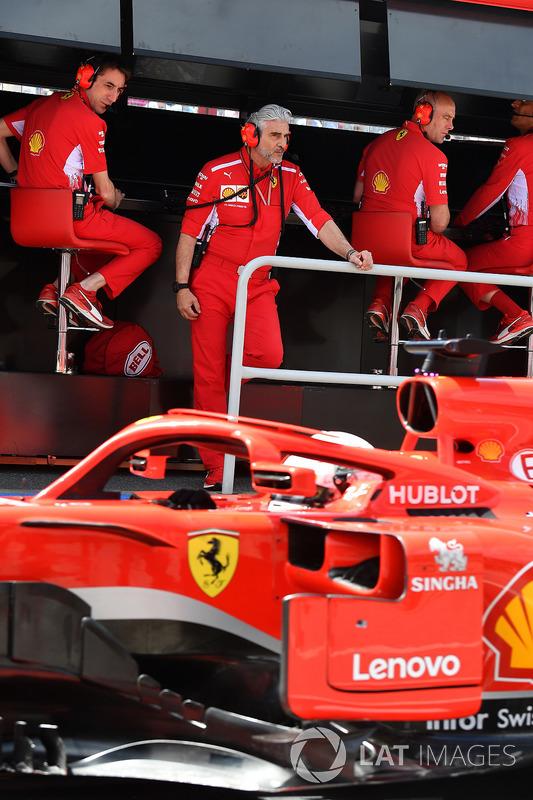 Maurizio Arrivabene, Team Principal, Ferrari