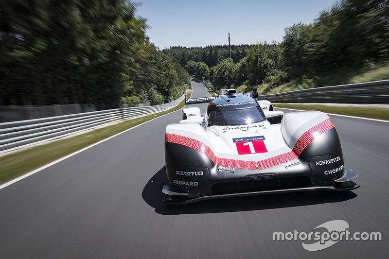 Porsche 919 Nürburgring recordronde