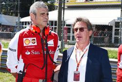 Maurizio Arrivabene, Team Principal Ferrari e Louis Camilleri, Presidente di Philip Morris