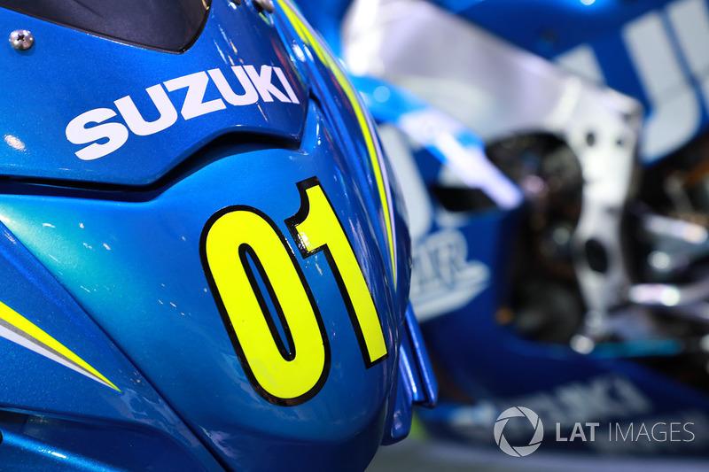 Suzuki Gixxer detail