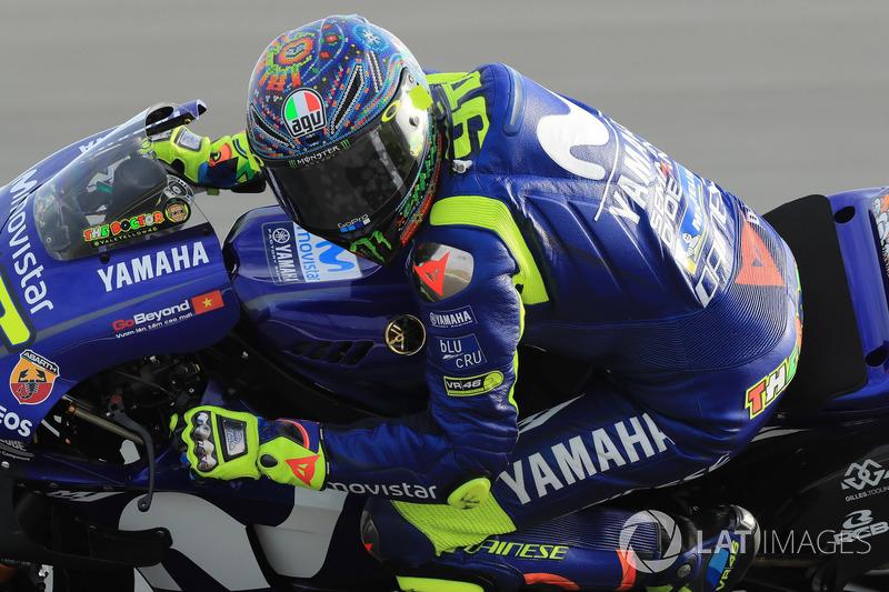 Test de invierno - Valentino Rossi