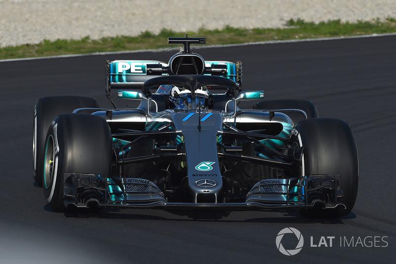 Валттері Боттас, Mercedes-AMG F1 W09