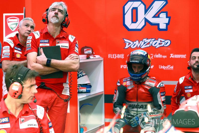Tardozzi, Gigi Dall'Igna, Ducati Team General Manager Andrea Dovizioso, Ducati Team