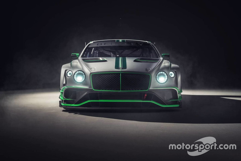 2018 Bentley Continental GT3 bemutató