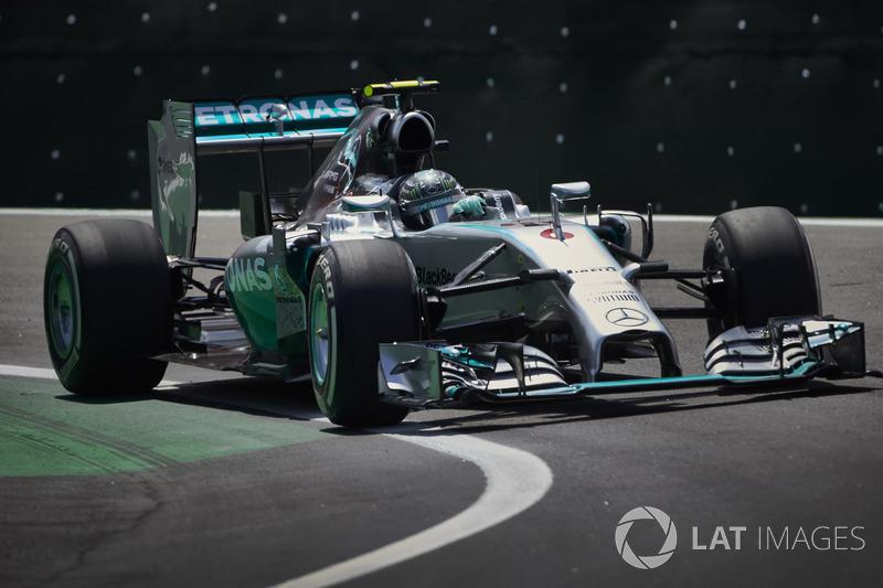 Nico Rosberg, Mercedes F1 W05 Hybrid