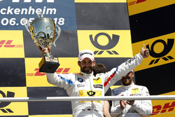 Podium: Race winner Timo Glock, BMW Team RMG