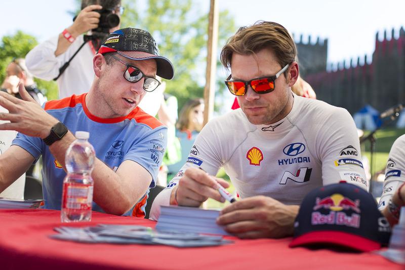 Andreas Mikkelsen, Dani Sordo, Hyundai Motorsport