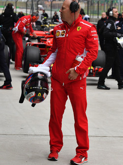 Mark Arnall, Trainer to Kimi Raikkonen, Ferrari