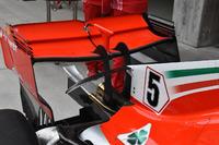 Ferrari SF71H, l'ala posteriore