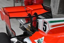 تفاصيل الجناح الخلفي لسيارة فيراري اس.اف71اتش