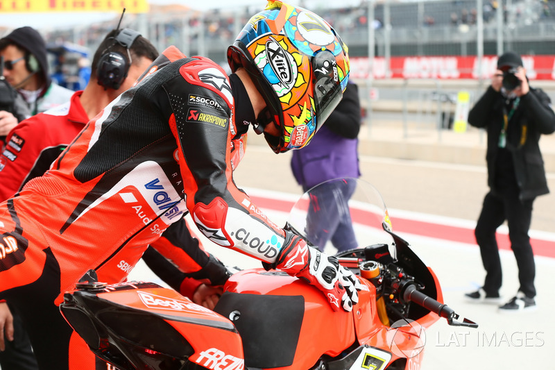 Chaz Davies, deuxième, Aruba.it Racing-Ducati SBK Team