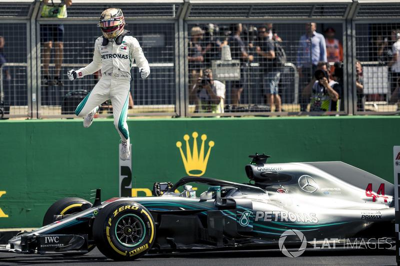10. GP Inggris Raya - Pole: Lewis Hamilton