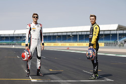George Russell, ART Grand Prix. And Artem Markelov, RUSSIAN TIME
