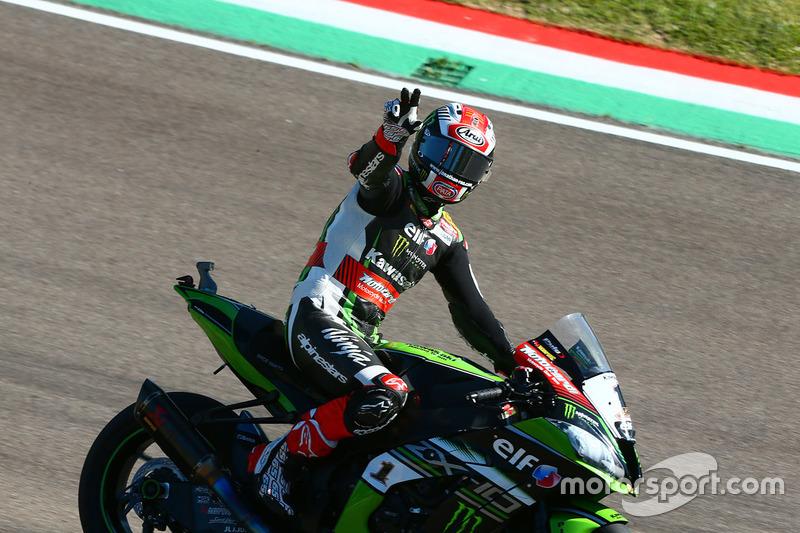 Segundo Jonathan Rea, Kawasaki Racing