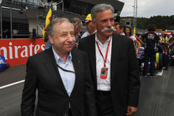 Jean Todt, Presidente FIA, Chase Carey, Chief Executive Officer, Executive Chairman, Formula One Group