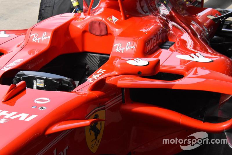 Ferrari SF70H: Rückspiegel alt
