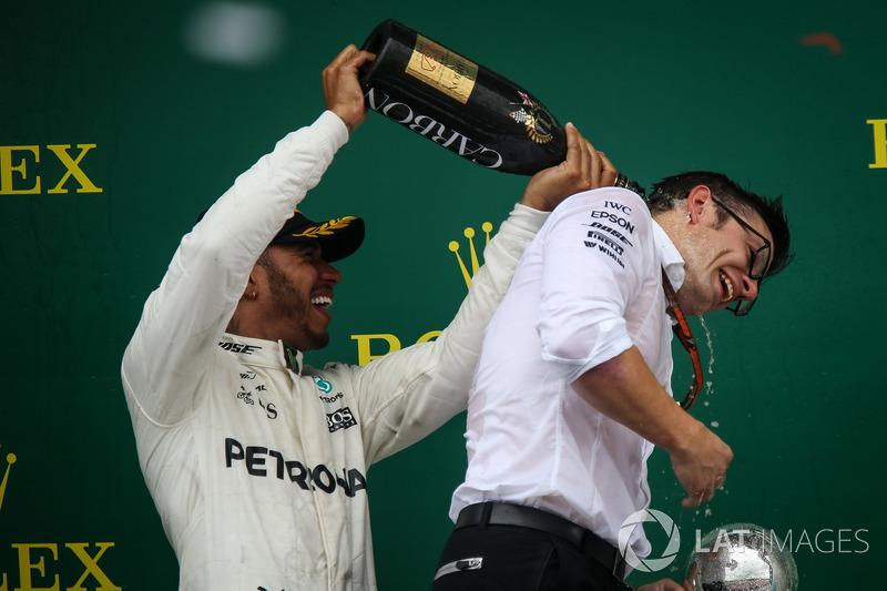 Льюіс Хемілтон, Mercedes AMG F1, гоночний інженер Mercedes AMG F1 Пітер Боннінгтон