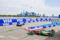 Nicolas Prost, Renault e.Dams, y Daniel Abt, ABT Schaeffler Audi Sport