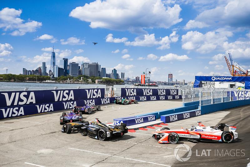 Daniel Abt, ABT Schaeffler Audi Sport, lidera a Alex Lynn, DS Virgin Racing, y Sam Bird, DS Virgin Racing