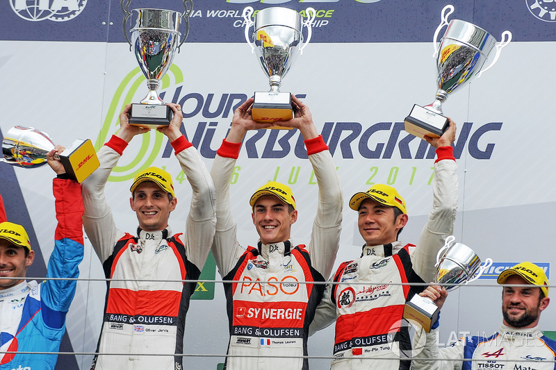 1. LMP2: Ho-Pin Tung, Oliver Jarvis, Thomas Laurent, DC Racing