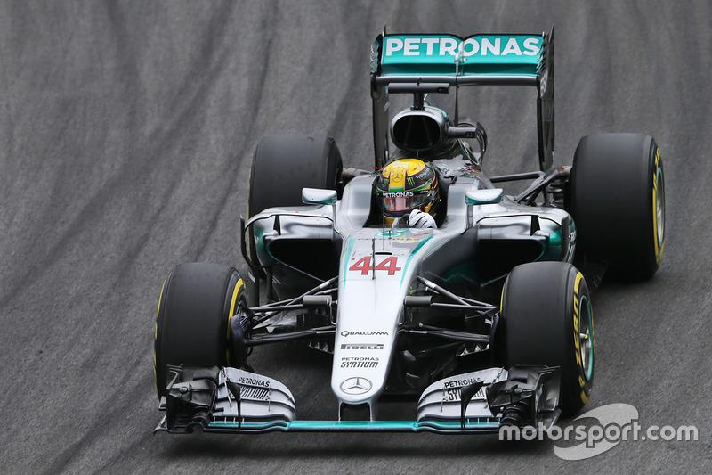 2 місце - Льюіс Хемілтон, Mercedes AMG F1 W07 Hybrid