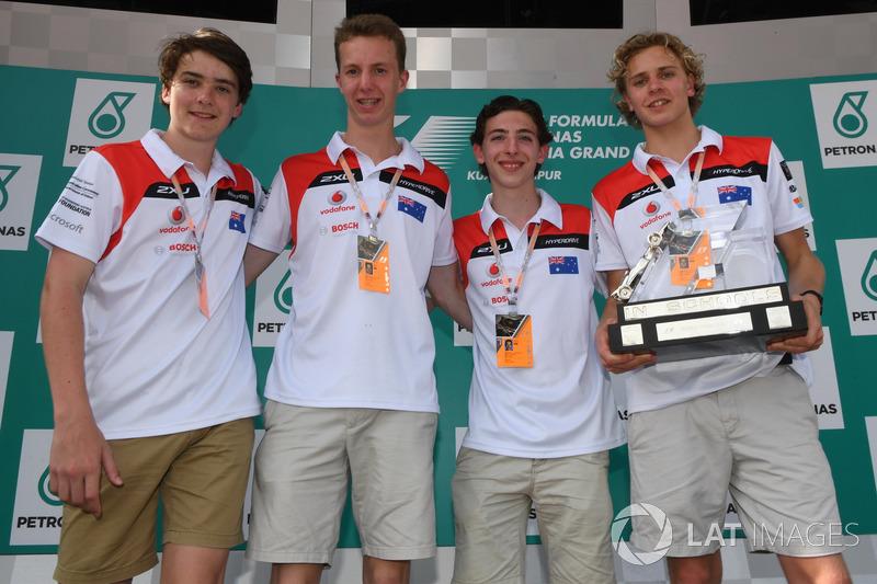 Студенти F1 in Schools
