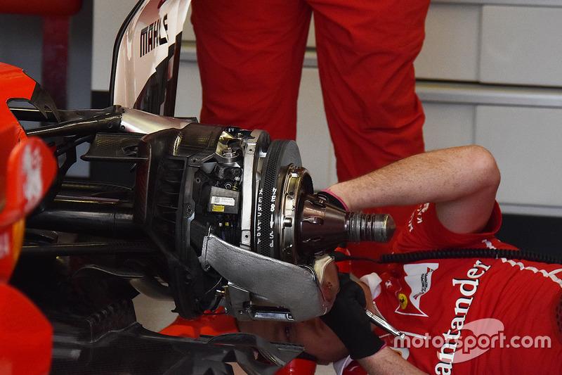 Freno trasero Ferrari SF70H