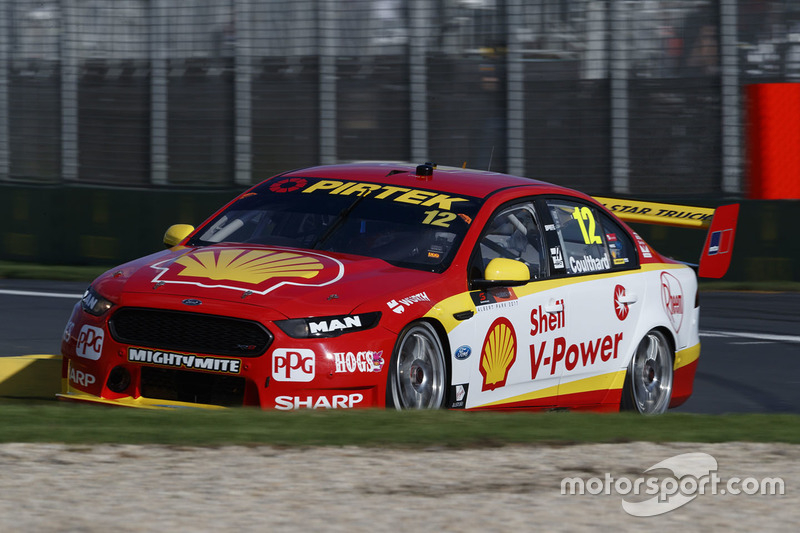#12: Fabian Coulthard, Team Penske, Ford