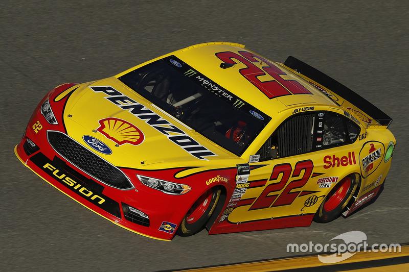 #22: Joey Logano, Team Penske, Ford