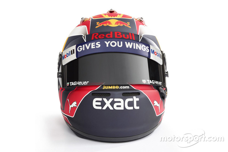 Helm von Max Verstappen, Red Bull Racing