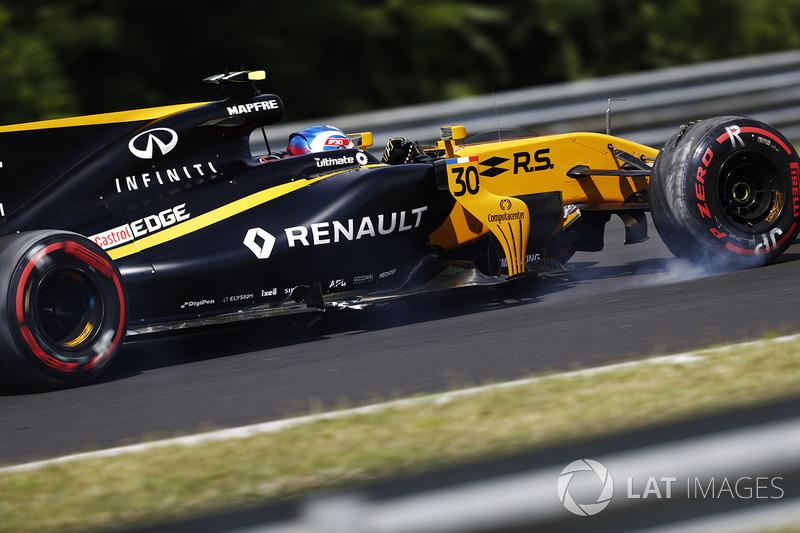 Jolyon Palmer, Renault Sport F1 Team RS17, ohne Frontflügel