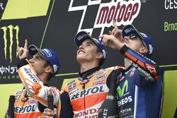 Dani Pedrosa, Repsol Honda Team, Marc Marquez, Repsol Honda Team, Maverick Viñales, Yamaha Factory Racing