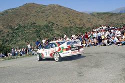 Didier Auriol, Denis Giraudet, Toyota Celica GT-4