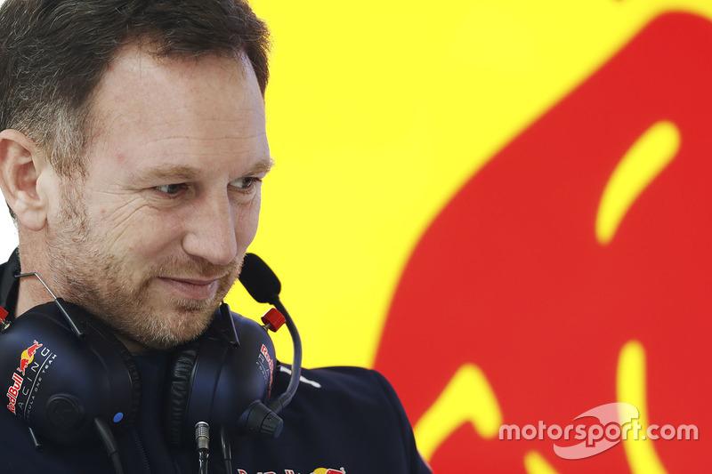 Teamchef Christian Horner, Red Bull Racing