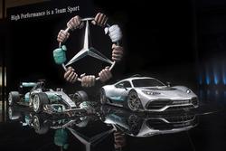 Showcar: Mercedes-AMG Project ONE, mit Mercedes AMG F1 W08