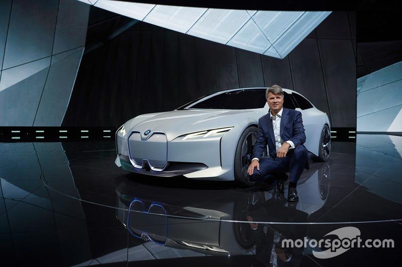 BMW i Vision Dynamics und Harald Krüger, Vorstand  BMW AG